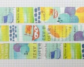 Sailboat washi tape
