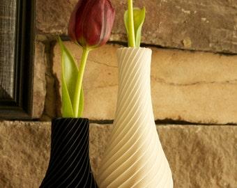 Twisting Rib Vase