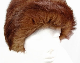 Vintage Saks Fifth Avenue Women's Hat Brown