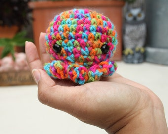 Multicolored Octopus Plushie