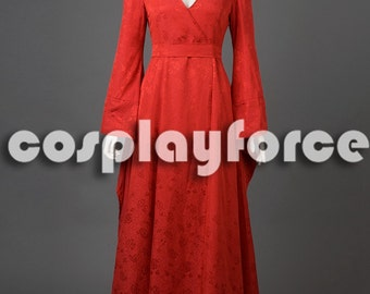Game Of Thrones Medieval Melisandre Cosplay Costume mp003132