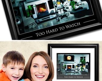 Star Wars™ Geek Gift Idea - Funny LEGO® Stormtrooper Art: Original LEGO® Toy Photography