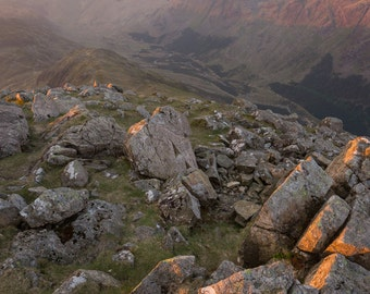 Sunrise from High Crag, Lake District, UK