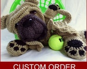 Custom Order  *Shar Pei* Blankie - Made to Your Specifications - Custom from Photos upgrade available