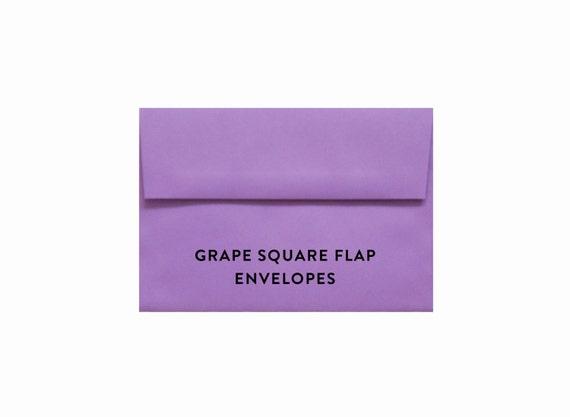grape purple a7 envelopes x envelope bridal