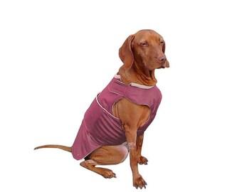 Dog Raincoat with underbelly protection - Dog Rain Coat - Dog Rain Jacket - Custom Made Dog Coat - Waterproof Dog Coats - Dog Rain Coat