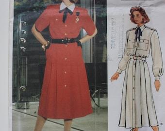 Vogue 1586 UNCUT Pattern -  Guy Laroche Designer Pattern for Misses Dress