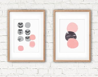 Pebble Stack A3 Print, 320 x 450mm unframed. Fits A3 frame.