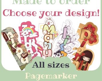 Personalized Pagemarker for filofax - Printable