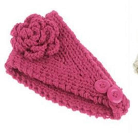 Knitted Headband Patterns Wide : HEADBAND Pattern Earwarmer Pattern Wide Hair Band Headwrap