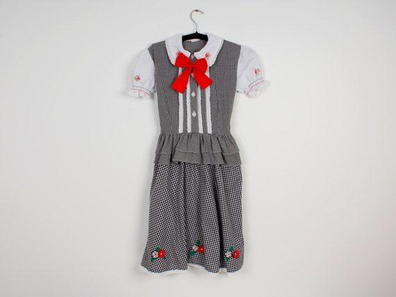 Girl Dirndl Dress
