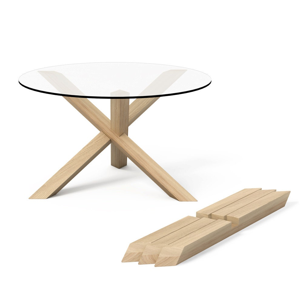 1x3 round wooden puzzle coffee table free shipping to eu. Black Bedroom Furniture Sets. Home Design Ideas