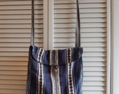 Blue Mexican Crossbody Bag