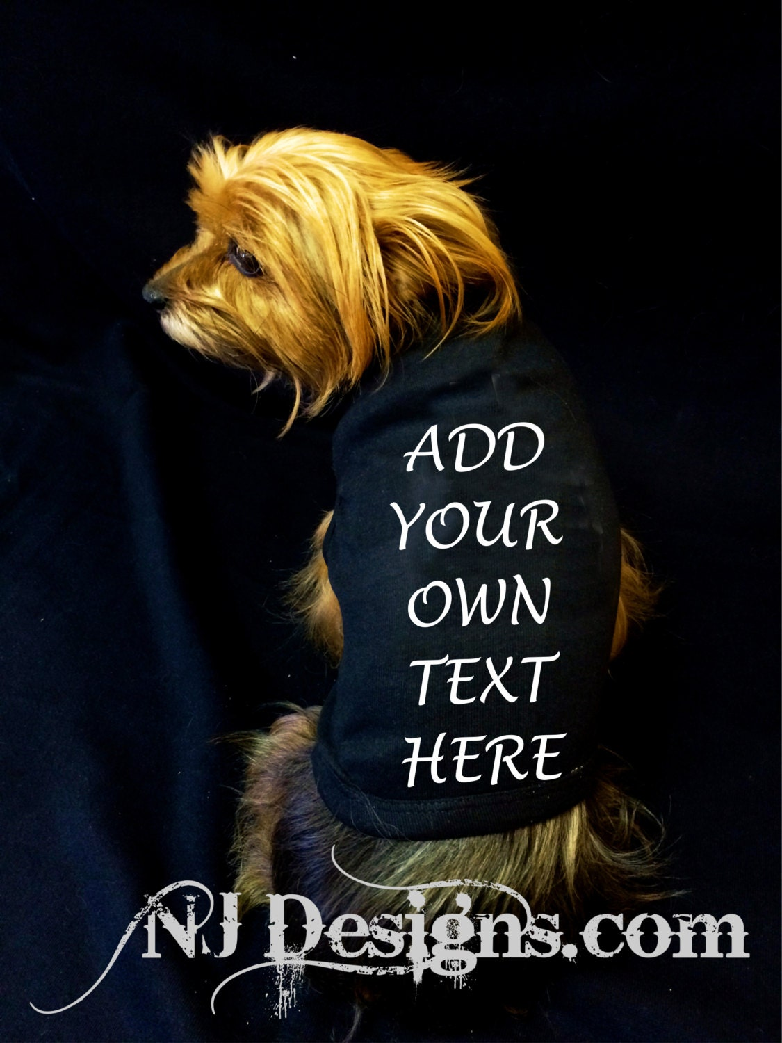 create your own custom dog shirt add your own text puppy