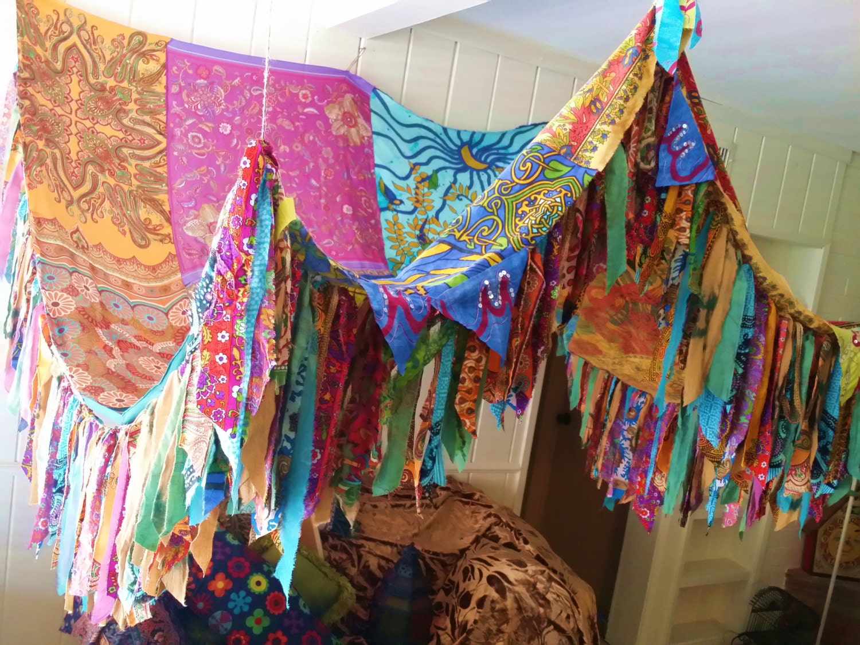 Bed canopy gypsy - Boho Bed Canopy Hippie Hippiewild Bohemian Hippy Scarves Gypsy