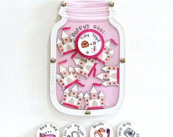 Reward Chart Behaviour Goals Princess Castle