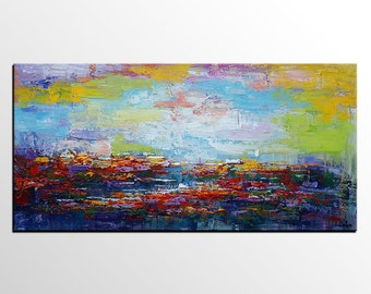 Landscape Painting, Canvas Art, Large Art, Original Art, Abstract Art, Canvas Painting, Wall Art, Large Art, Wall Art, Abstract Painting
