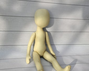 "Blank doll body-15"",Mary Doll, blank rag doll, ragdoll body,the body of the doll made of cloth"