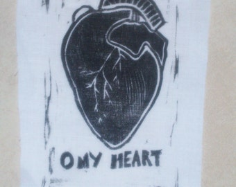 O MY HEART patch