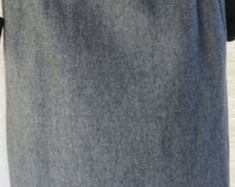 Vintage SUMMIT of BOSTON Extra Small Grey A Line Skirt