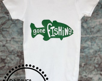 Gone Fishing Outfit for Baby or Toddler