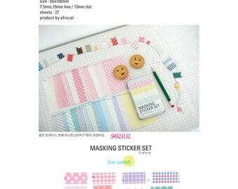 Afrocat Pastel Washi Tape Pack SM323132