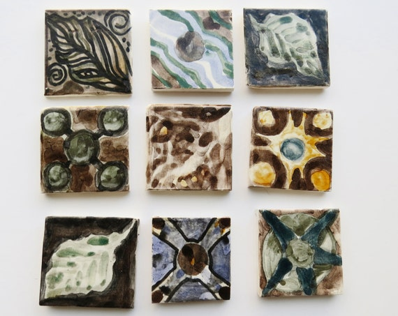 Ceramic Ceramic Tile Decorative Tile Art Tile 2x2 Tiles