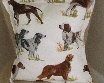 Hounds pillow