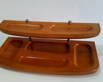 Wood Desk Organizer, Office Supplies