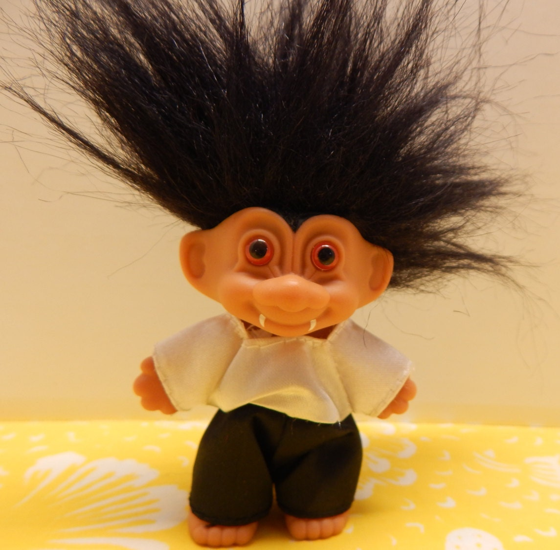 He Has Been Found TROLL Doll Mini Russ Vampire Vintage