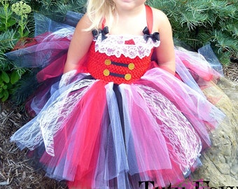 Pirate Tutu Dress, Pirate Costume, Girls Pirate Costume, Pirate Tutu, Halloween Costume Girls, Pirate Outfit, Pirate Dress,