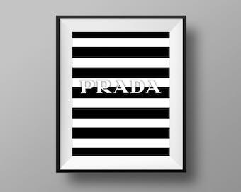 Prada Marfa Print > Prada Art > Prada Decor > Prada Sign > 11x14 - Instant Digital Download