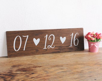 Save the Date Wooden Sign - Engagement Announcment Sign - Photo Prop - Wedding Decor, Boho Wedding, Wedding Photo Prop