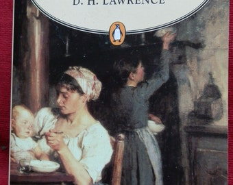 Vintage Book: Sons and Lovers by D.H. Lawrence Published by Penguin Popular Classics 1995