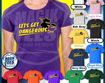 Lets Get Dangerous Darkwing Duck Retro 80s Cartoon T-Shirt