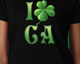 I Shamrock California St. Patrick's Day T-Shirt