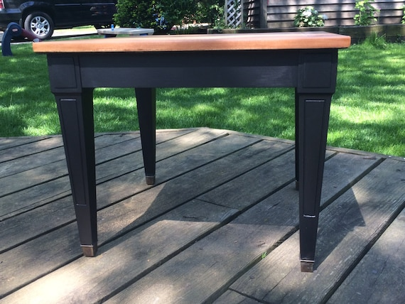 ... End Table / Lamp Black / General Finishes / Nightstand / Accent Table