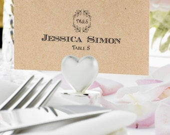 wedding place cards template flat escord carts place cards