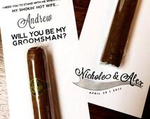 ... Gifts for Groomsmen / You Be My Groomsman Gifts / Ask Groomsman Ask