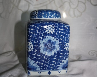 Vintage Porceleyne Fles Delft Jar  - Dated 1967
