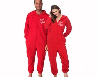 Mr and mrs pajamas | Etsy