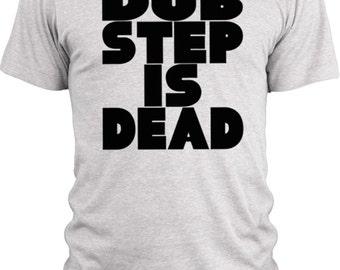 Big Texas Dub Step is Dead (Black)  Vintage Tri-Blend T-Shirt