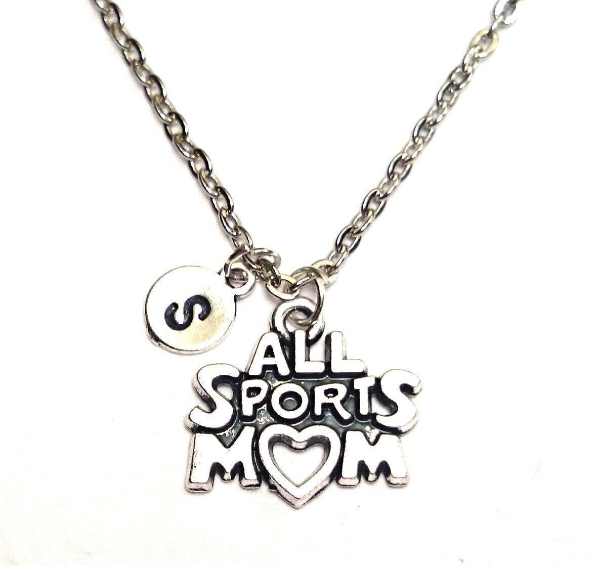 all sports necklace sports charm by