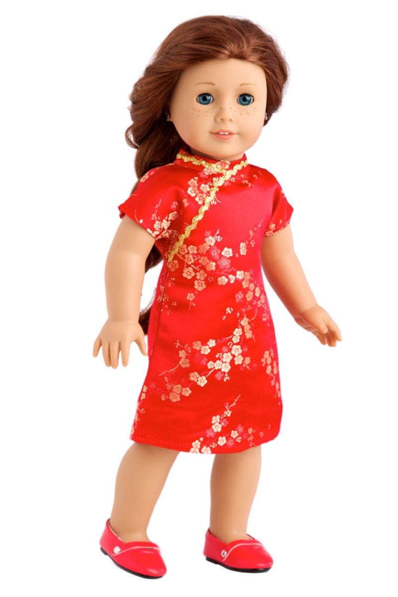 18 Beauty Salon Website Templates: Asian Beauty Clothes For 18 Inch Doll Asian Red And Gold