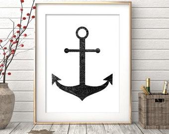 Anchor Wall Art anchor wall art | etsy