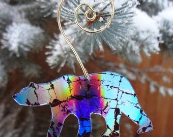 CD Bear Holiday Ornament
