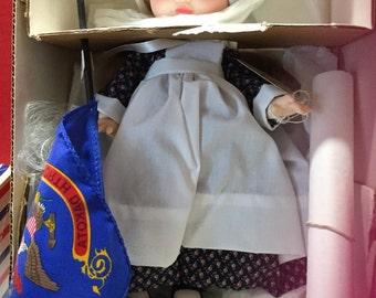 Royal doll company. Mary Jane growing up in the USA North Dakota doll circa 1960.