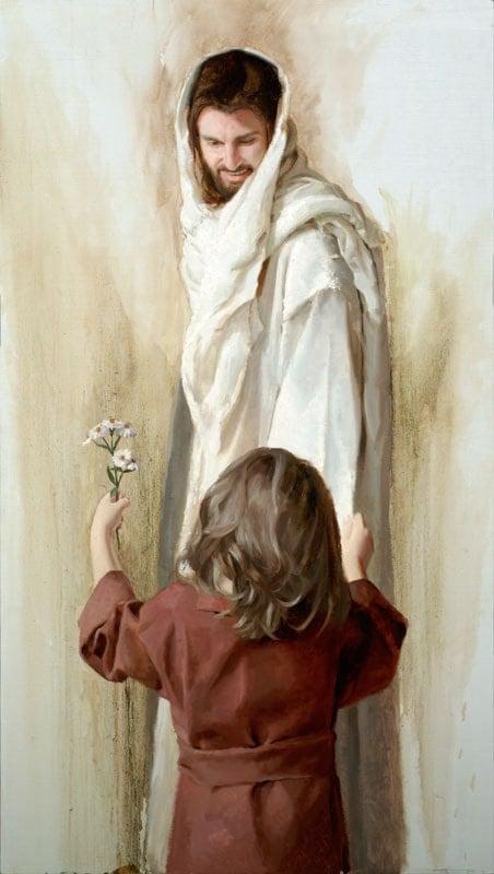 Jesus Christ Art Print In Return by Artist Jared