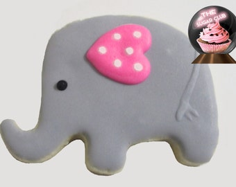 Elephant Cookie, Elephant Favor, Elephant Theme Shower, Elephant Birthday Party, Elephant Shower Favor, Elephant Party Favor, Baby Shower Co