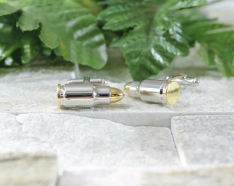 Bullet cufflinks. Cufflinks. Groomsmen cufflinks. Groom cufflinks. Silver cufflinks. Outdoorsmen gift. GET 25% OFF! Coupon Code: FREECUFFS